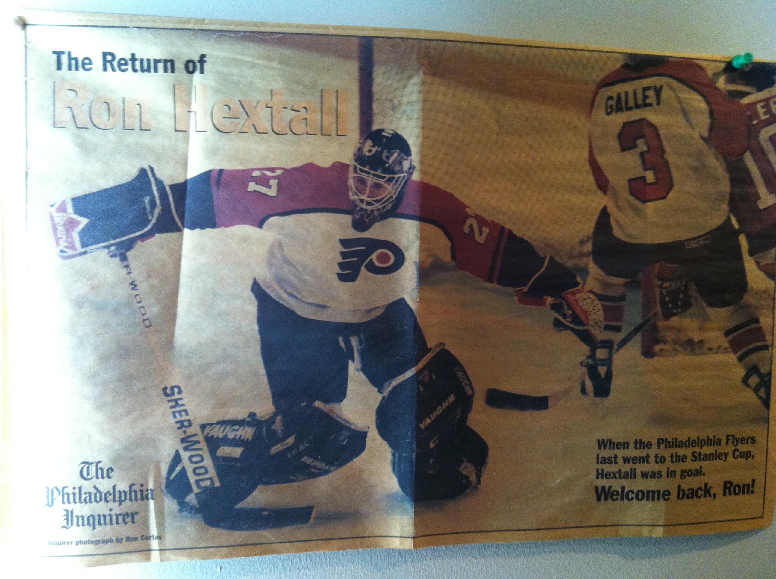 Philadelphia Flyers Bedroom Photo Essay Philly Teenage 90s Bedroom Headie Sports
