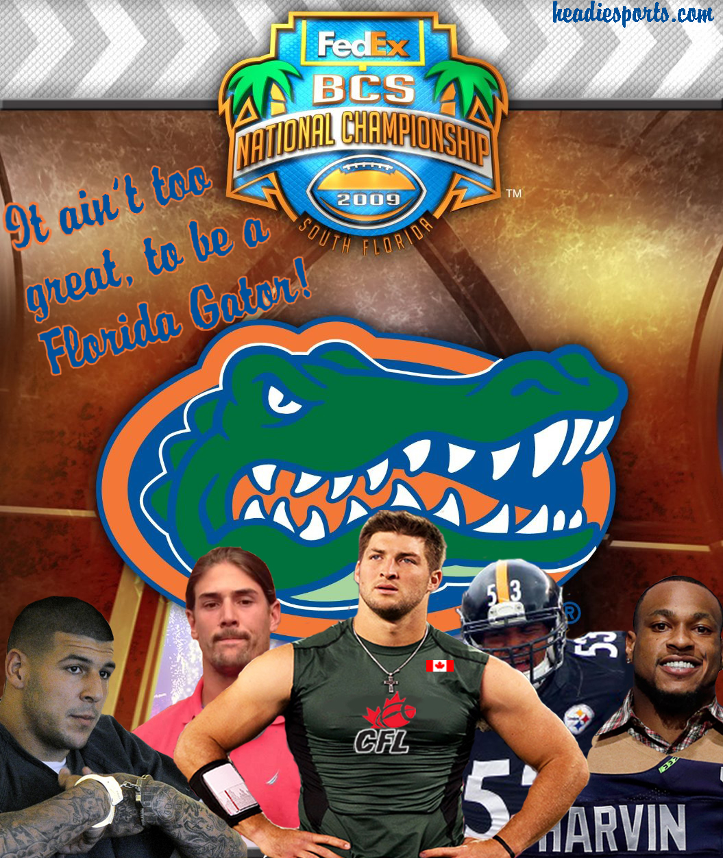 florida gators 2008 bcs national champs is it great to be a florida gator?? headie sports